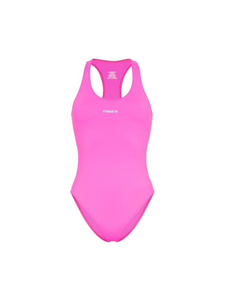 VETEMENTS Baywatch Swimsuit - Pink Pink