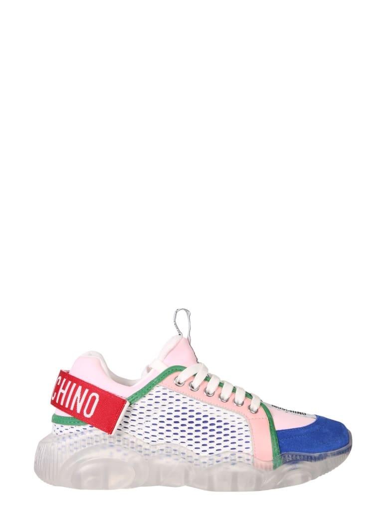 Moschino Teddy Shoes Snekears - MULTICOLOR