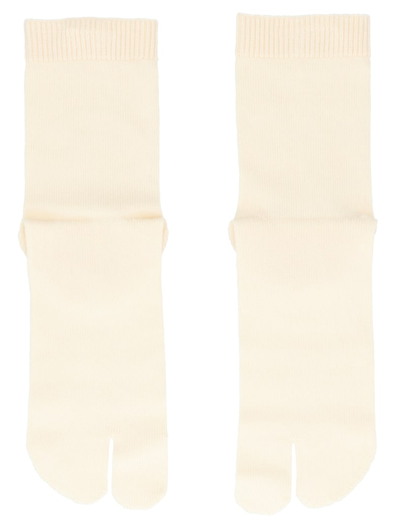 Maison Margiela 'tabi' Socks - White