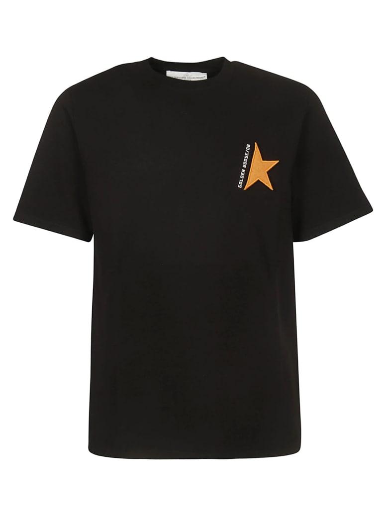 Golden Goose Golden T-shirt - Black Orange