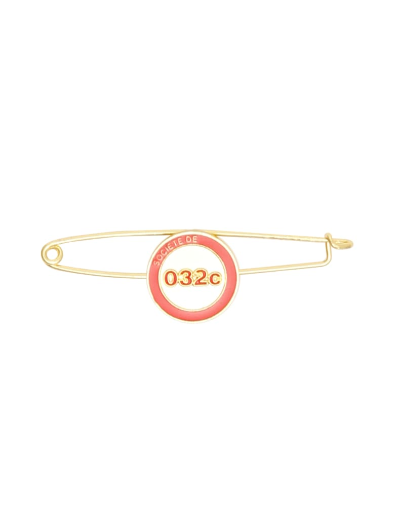 032c Needle Pin - BRASS RED (Gold)