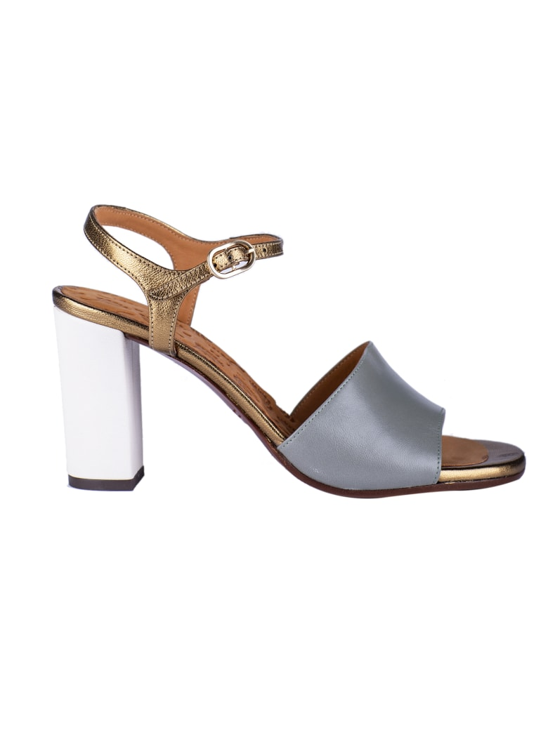 Chie Mihara Bapa Sandals - Gold/Blue