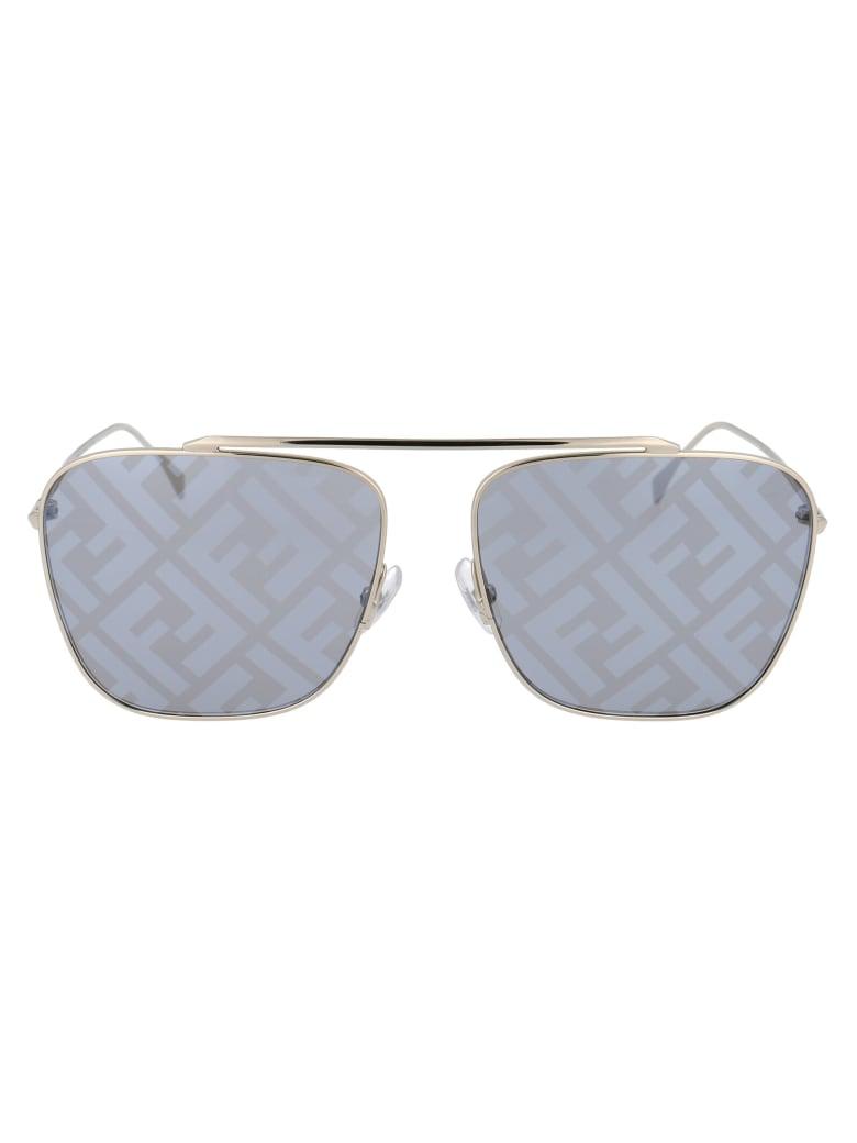 Fendi Ff 0406/s Sunglasses - 2F7MD GOLD GREY