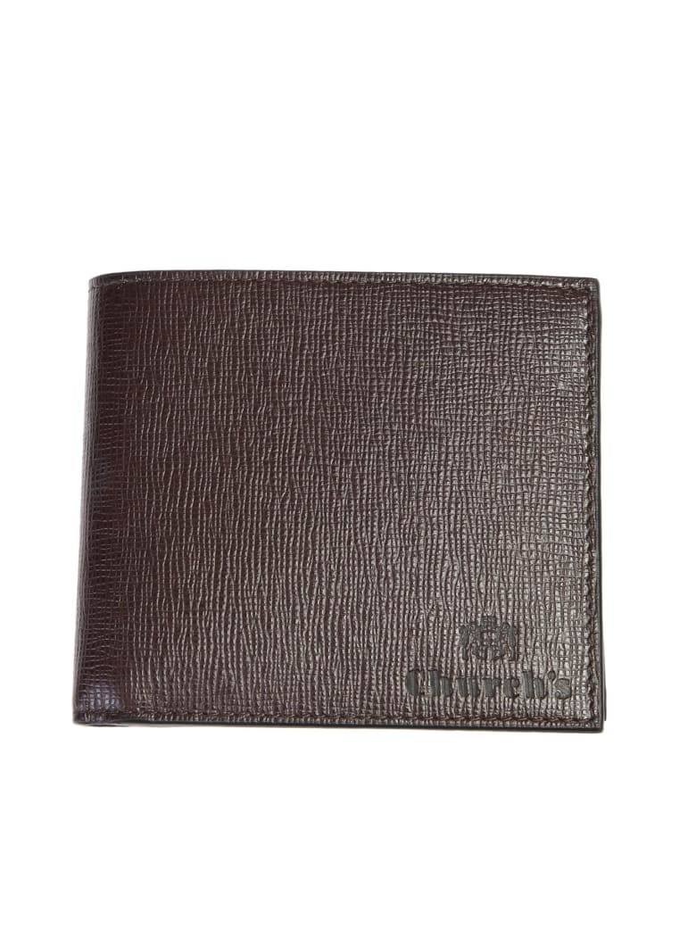 Church's Branded Wallet - Brown