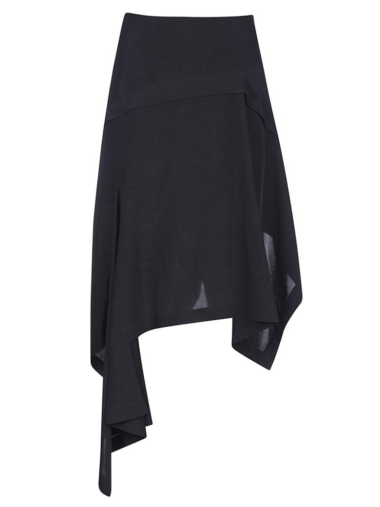 Lanvin Asymmetric Skirt - Nero