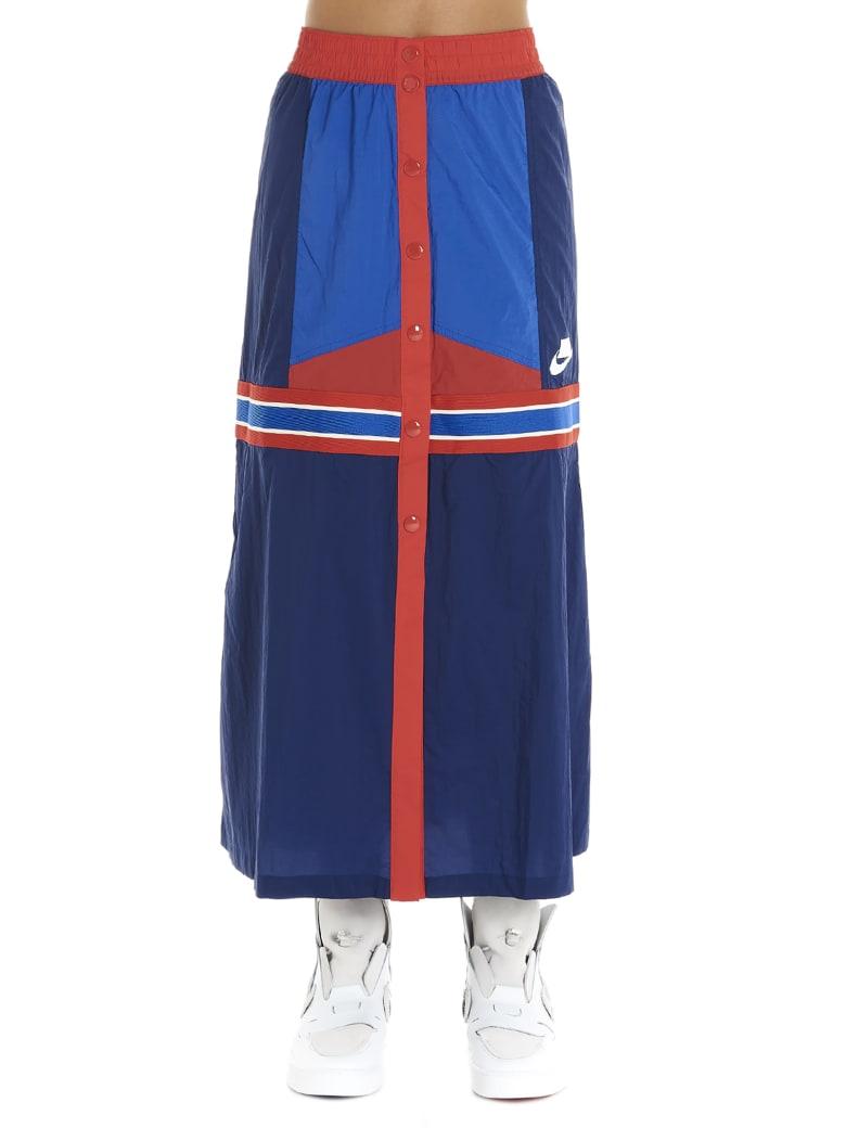 Nike 'mid Wvn' Skirt - Multicolor
