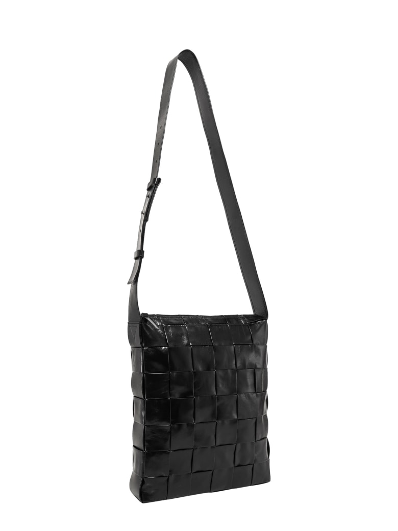 Bottega Veneta Messenger Shoulder Bag - Black