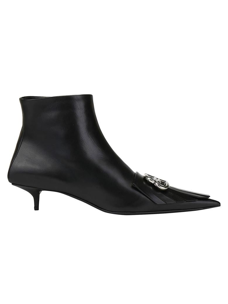 Balenciaga Booties - Black/silver