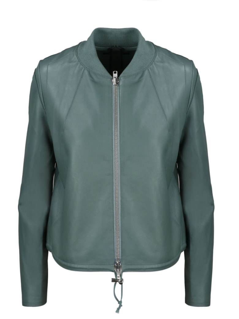 S.W.O.R.D 6.6.44 Leather Jacket - Green