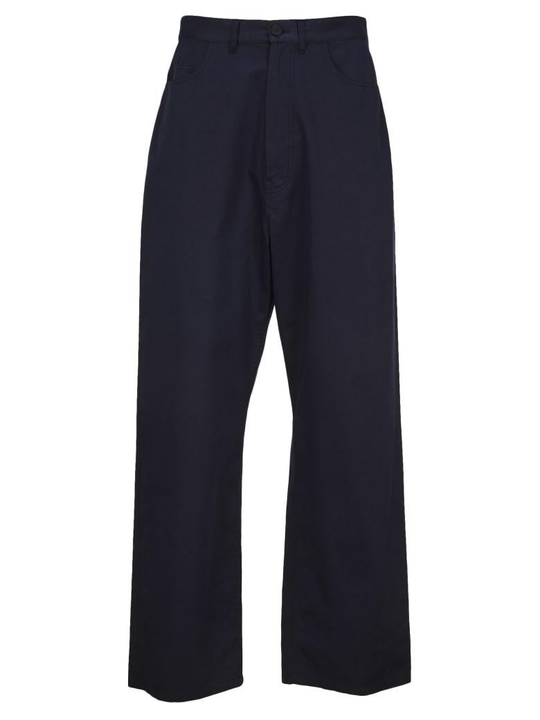 Balenciaga Baggy Chino Pants - NAVY