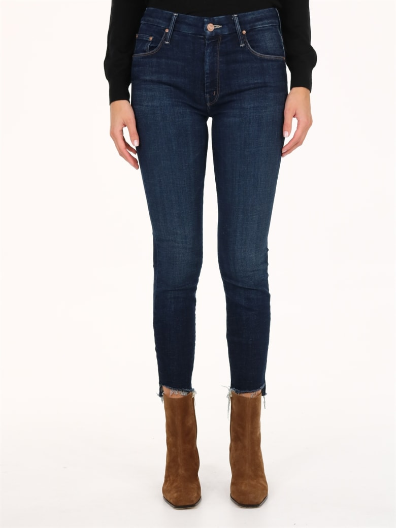 Mother The Looker Jeans Blue - Blue