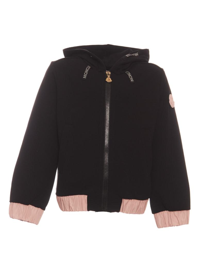 Moncler Cardigan + Pantalone - Black
