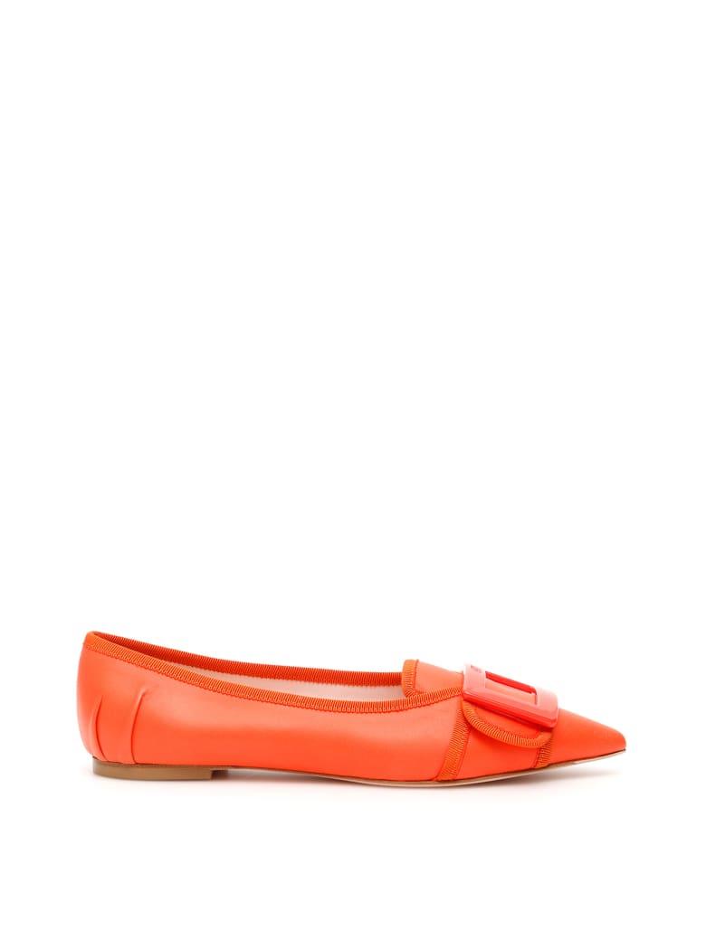 Roger Vivier Soft Gommettine Ballerinas - VERMIGLIO CHIARO (Orange)