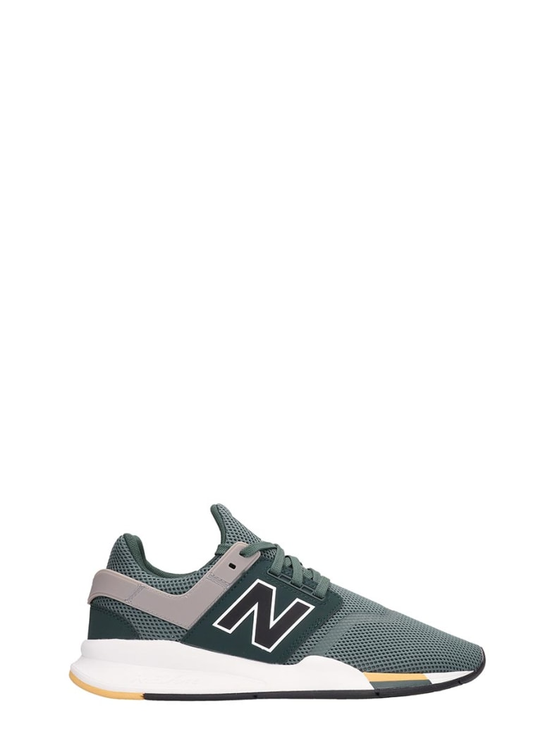 1a3ae0c864dde New Balance New Balance Green Canvas 247 Sneakers - green - 10973738 ...