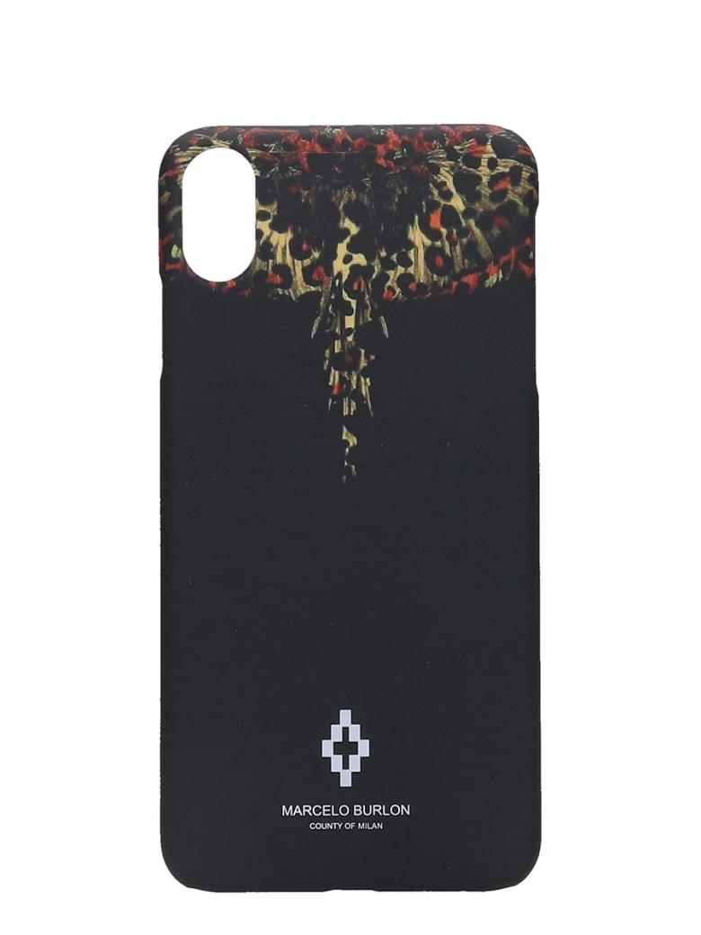 Marcelo Burlon Iphone / Ipad Case In Black Pvc - black