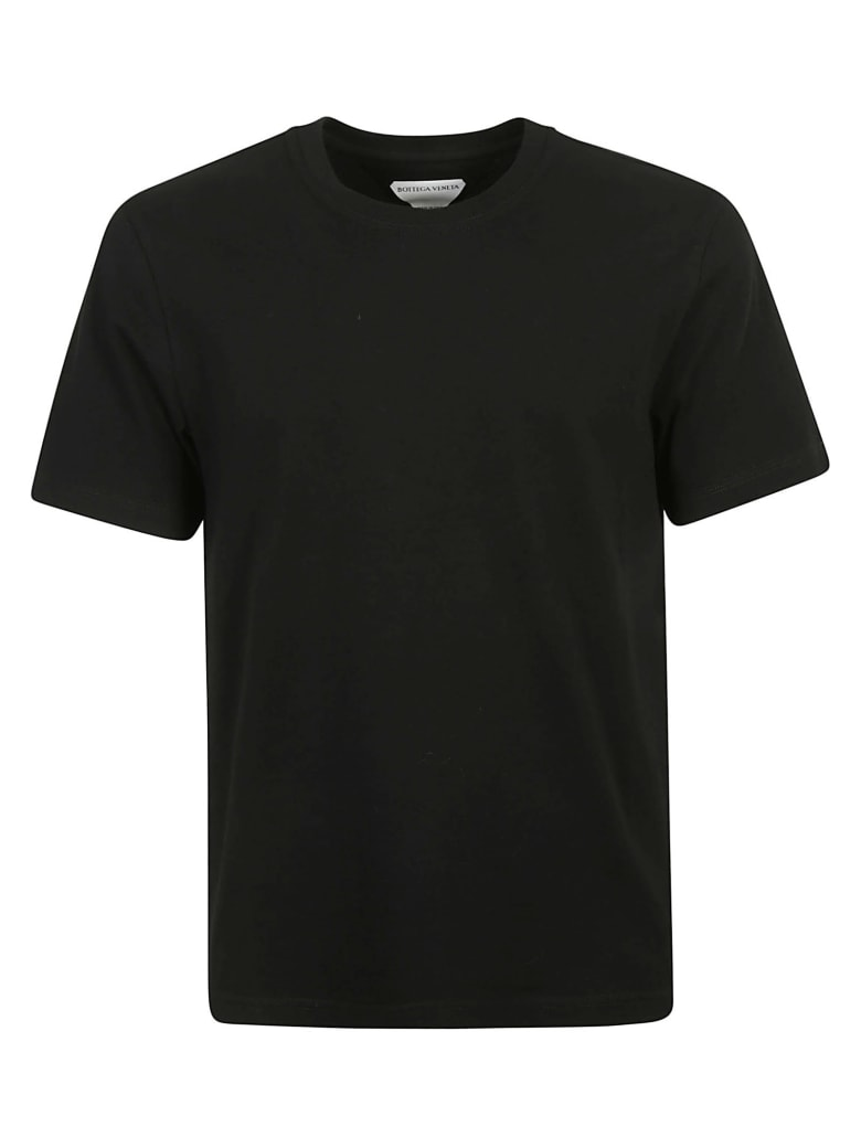 Bottega Veneta Round Neck T-shirt - Black