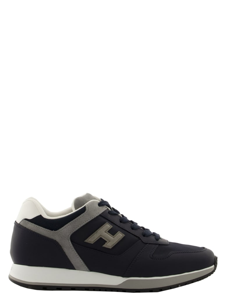 Hogan Sneakers H321 Blue, Grey - Blue