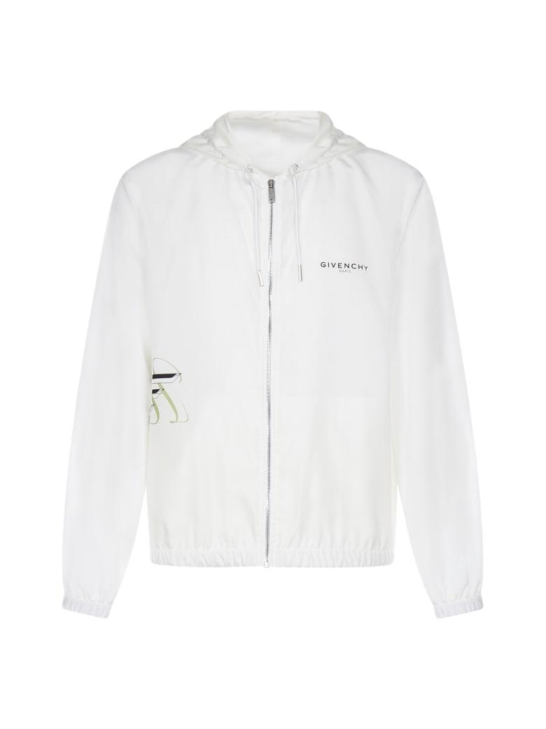 Givenchy Windbreaker Jacket - White/pink