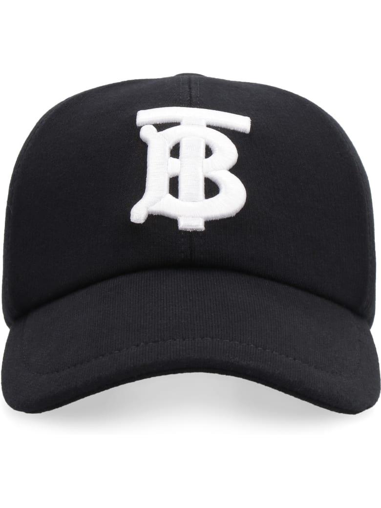 Burberry Logo Baseball Cap - black