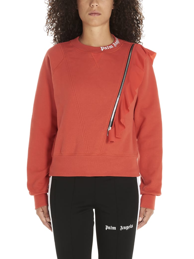 Palm Angels Sweatshirt - Red