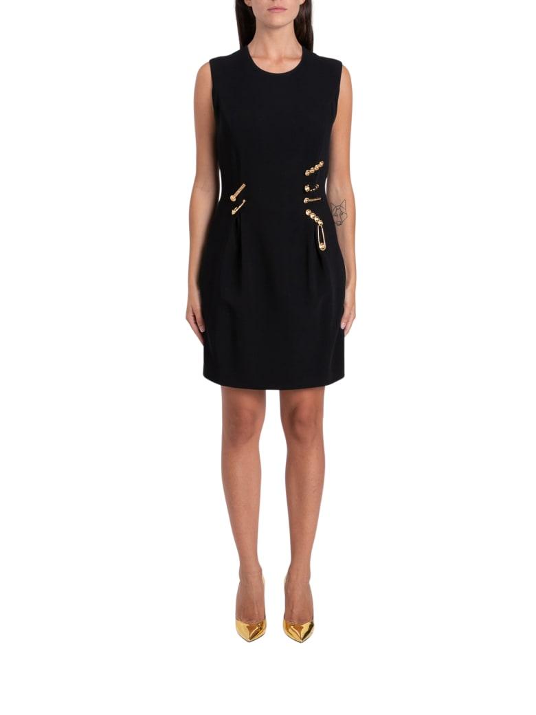 Versace Safety Pin Mini Dress - Nero