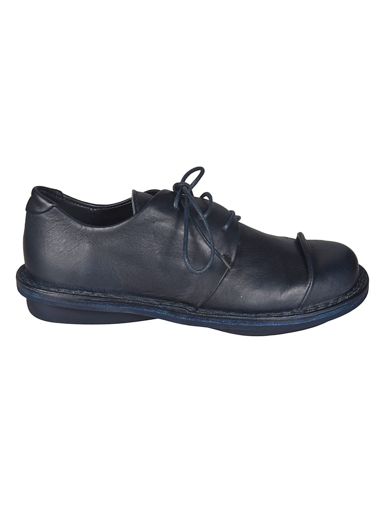 Trippen Covey Navy Derby Shoes - Navy