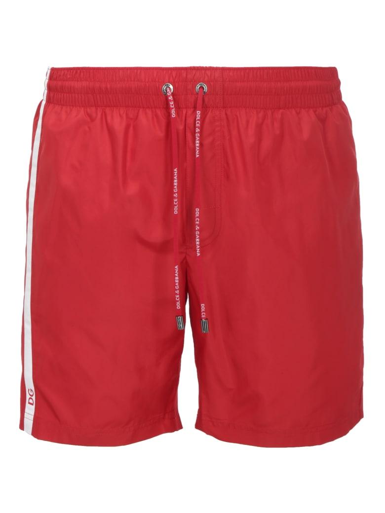 Dolce & Gabbana Swimsuit - Rosso brillante