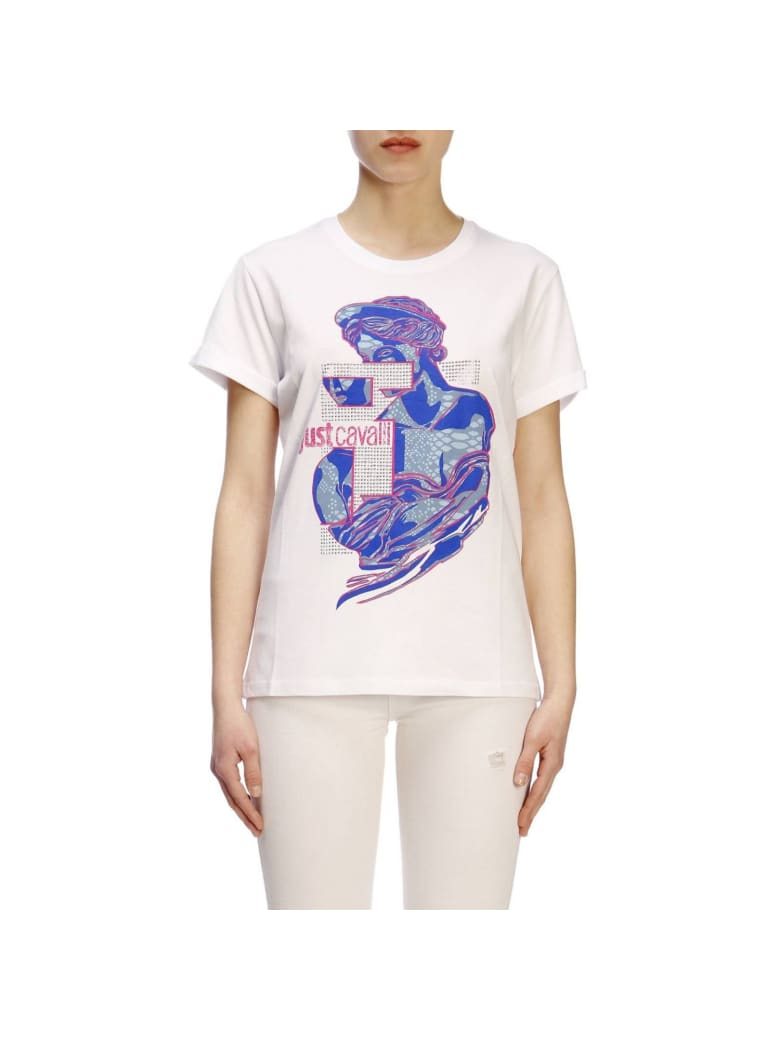 Just Cavalli T-shirt T-shirt Women Just Cavalli - white
