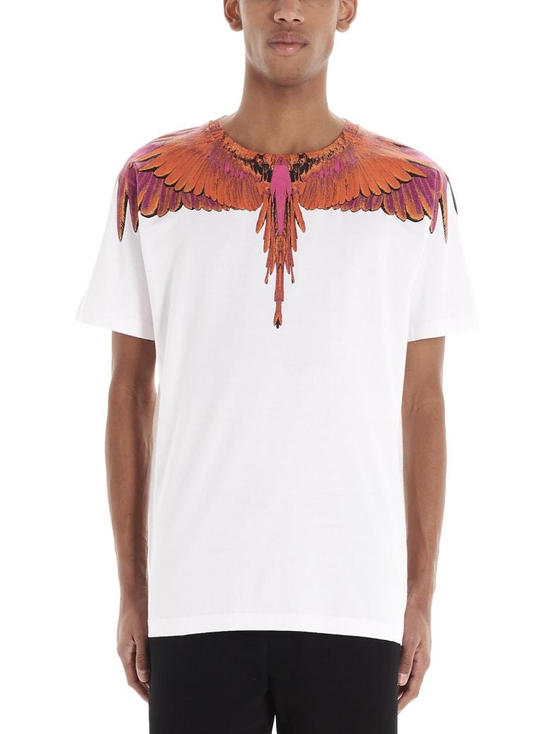 Marcelo Burlon 'red Wings' T-shirt - White
