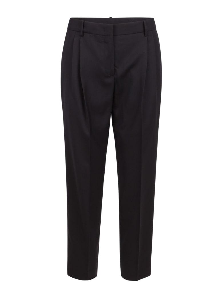 Paul Smith Wool Trousers - Black