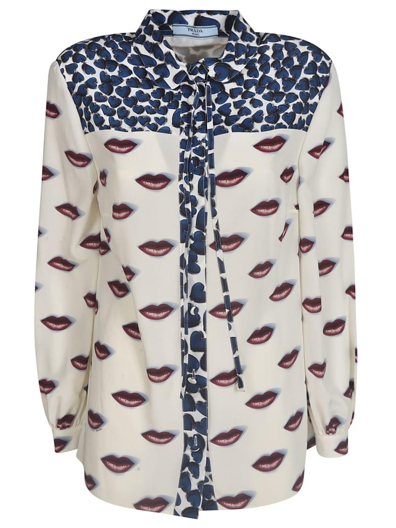 Prada Lip Printed Shirt - F0x57