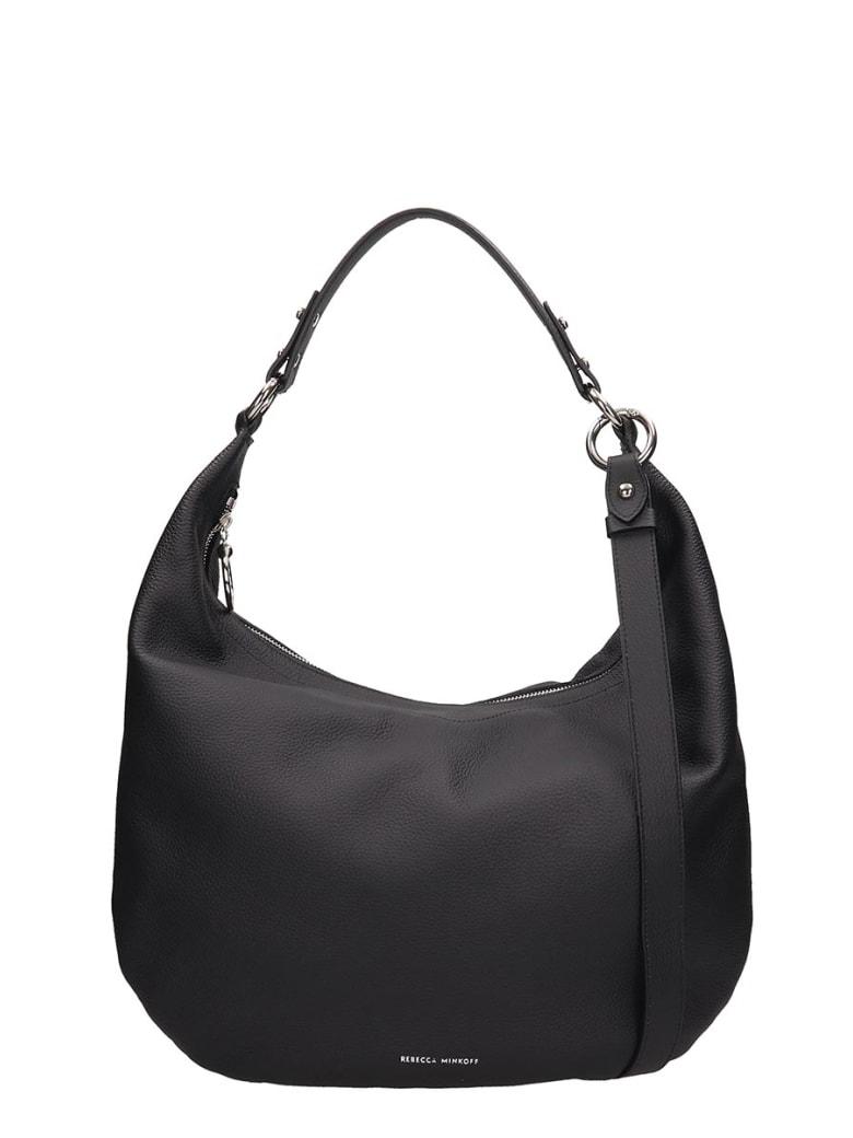 Rebecca Minkoff Black Leather New Rebecca Bag - black
