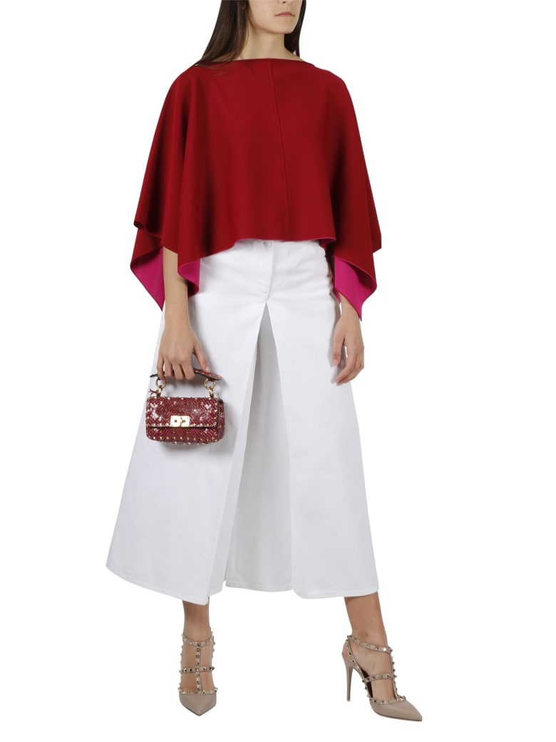 Valentino Asymmetric Top - Red