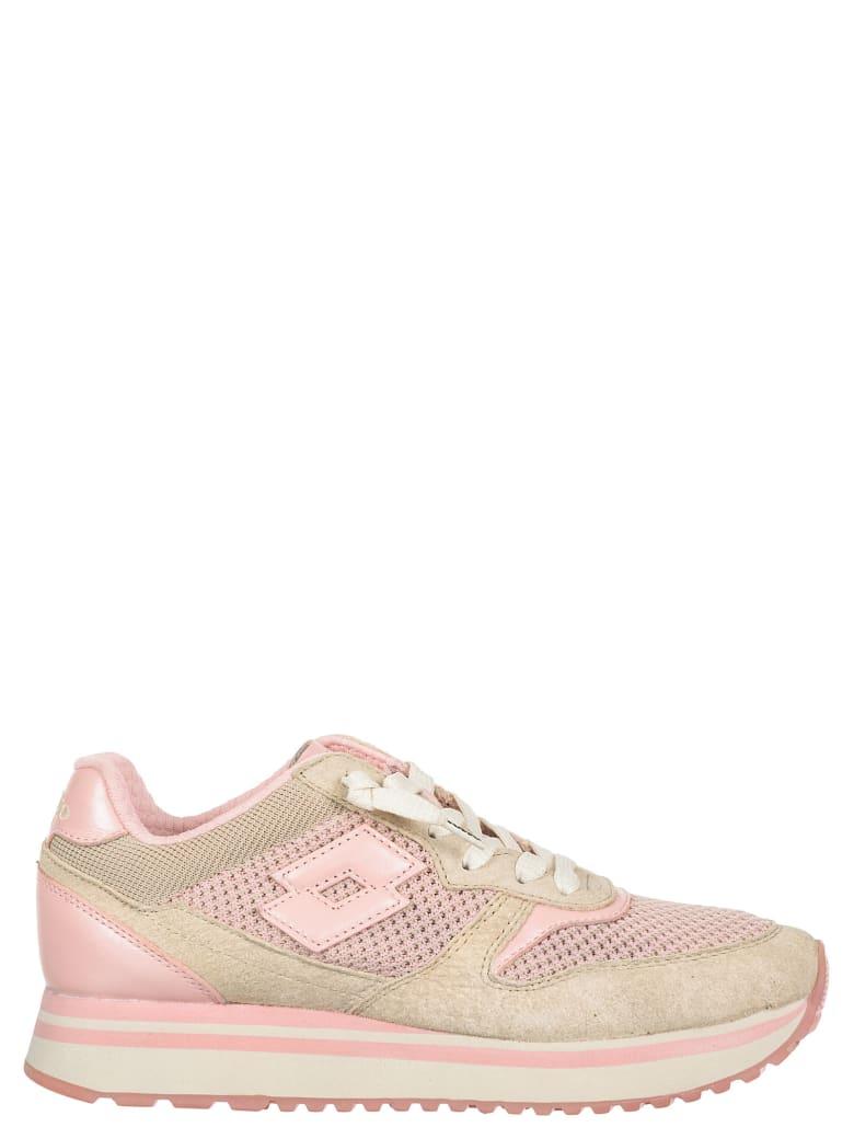 Lotto Leggenda Knit Sneakers - Rosa