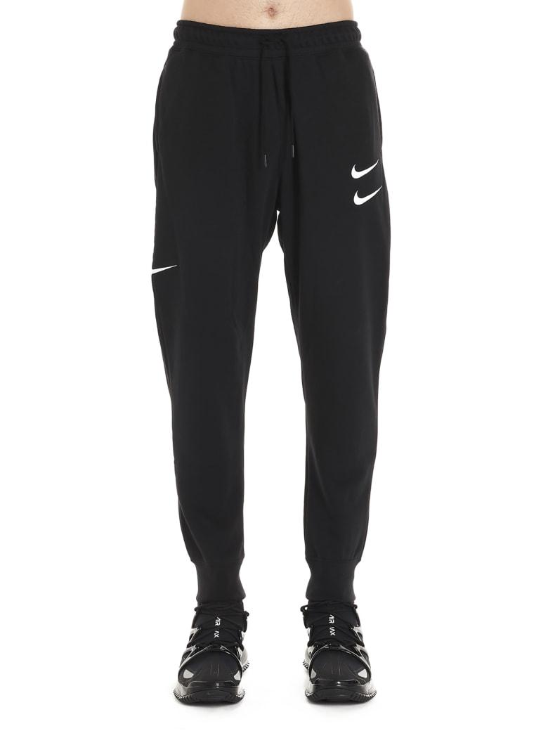 Nike 'swoosh' Sweatpants - Black