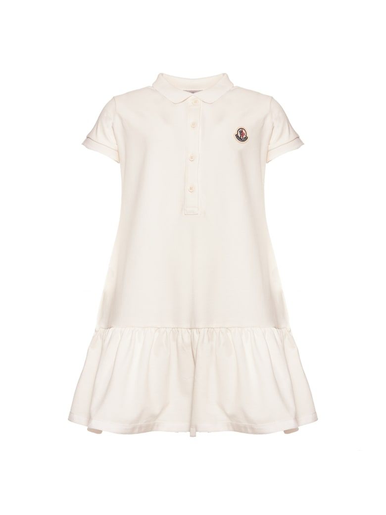 Moncler Piquet Stretch Dress - Natural
