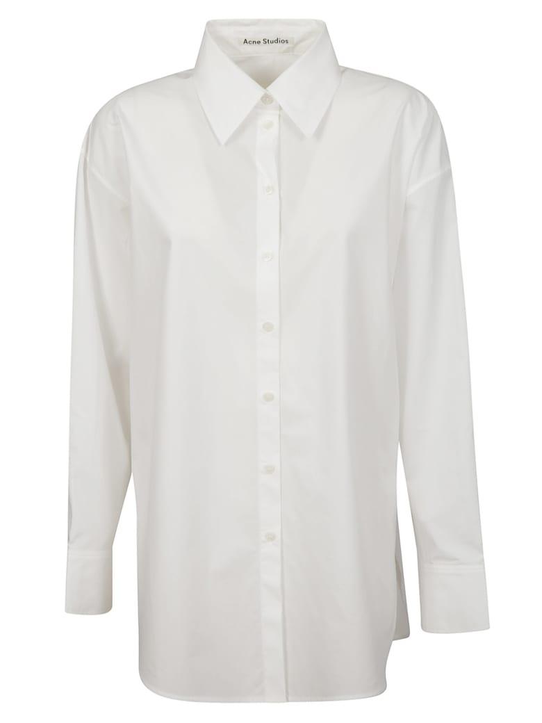 Acne Studios Oversized Classic Shirt - White