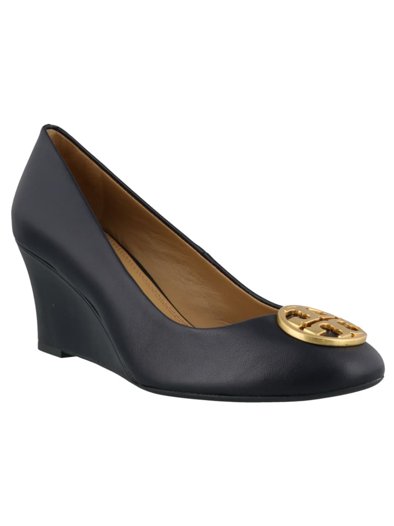 Tory Burch Chelsea Wedged - Navy