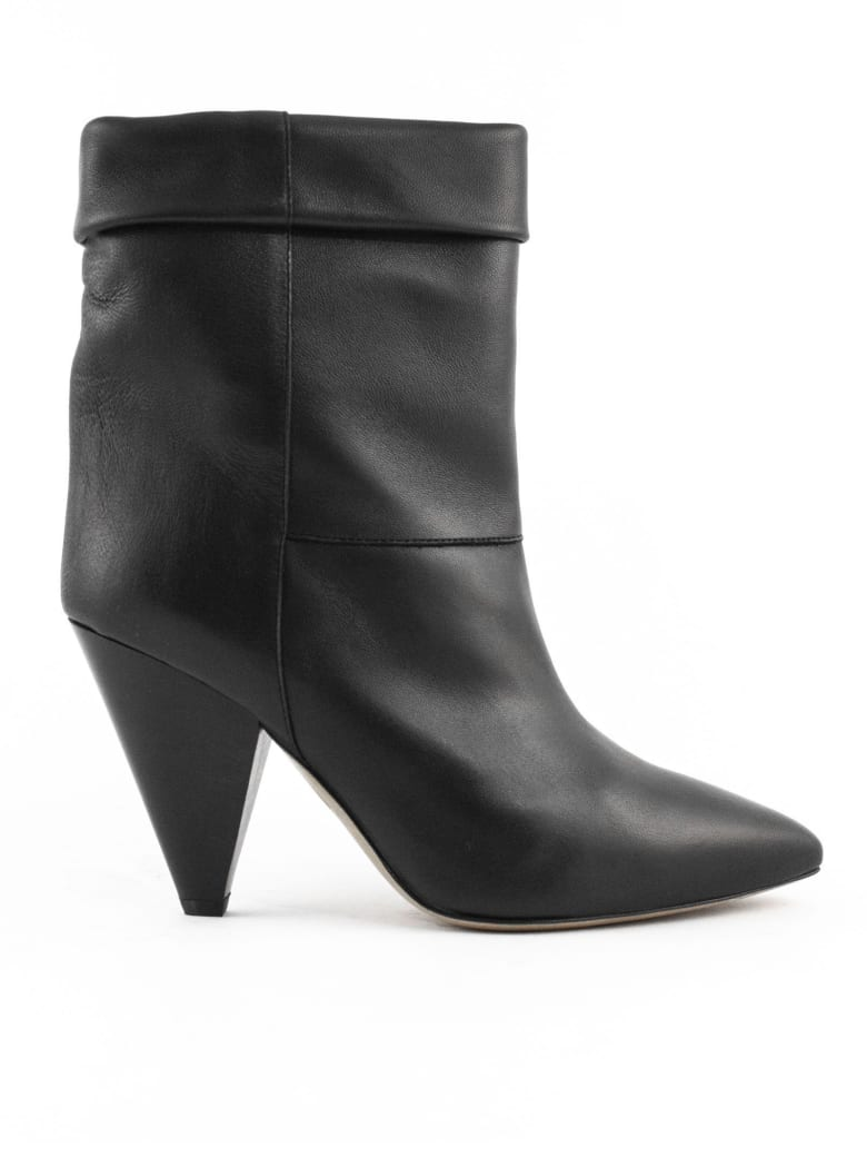 Isabel Marant Black Tapered Heel Boots - Nero