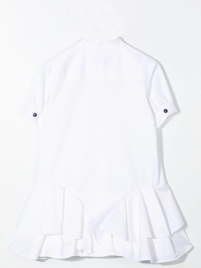 Alberta Ferretti Shirt Dress - White