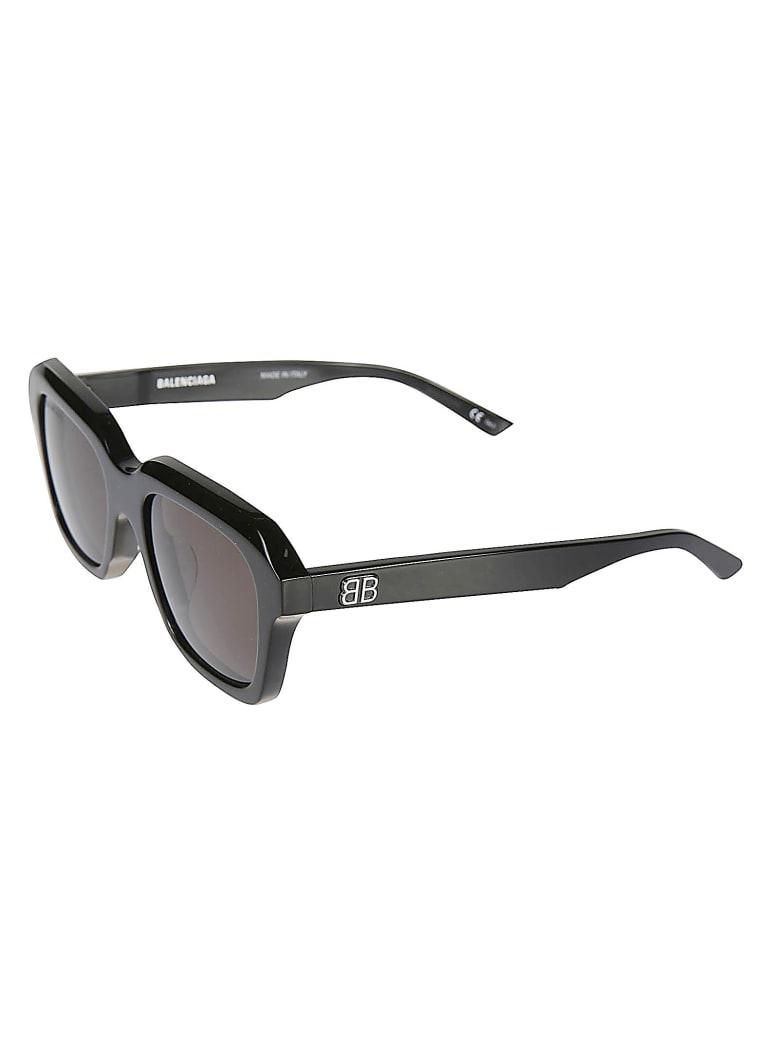 Balenciaga Embossed Logo Sunglasses - Nero