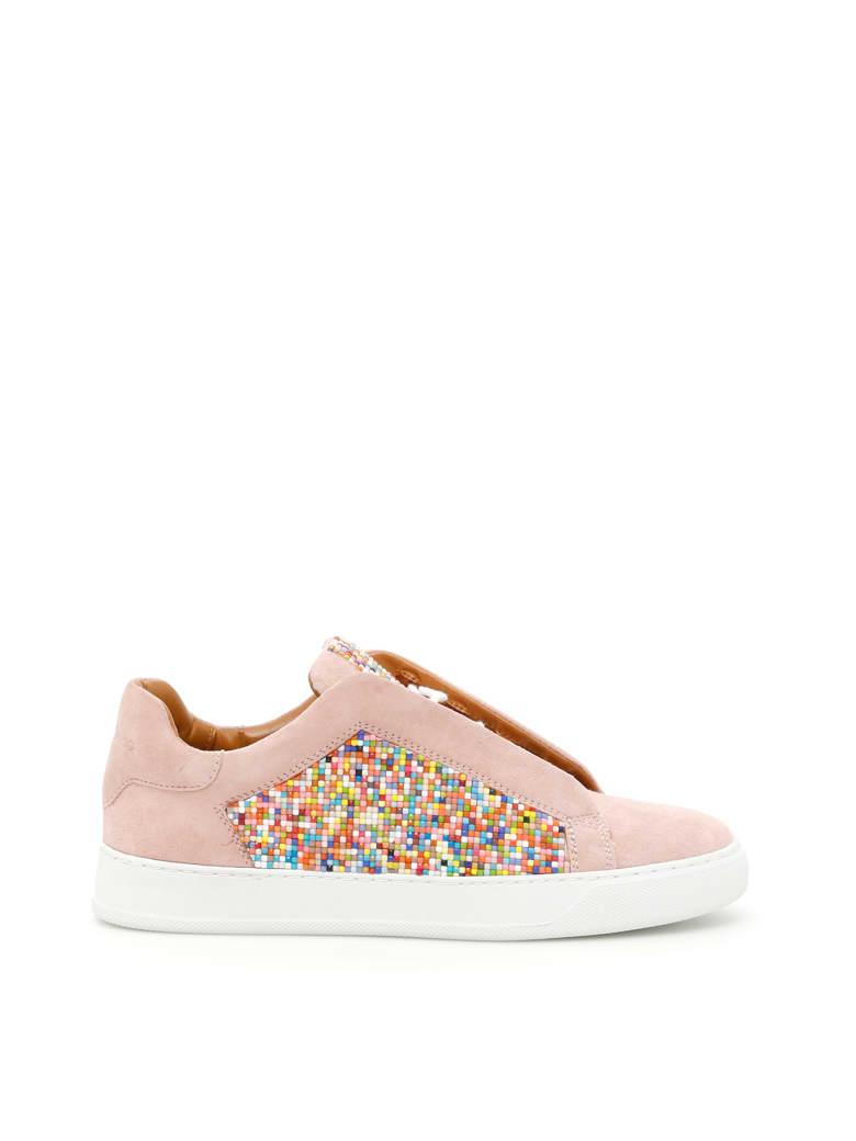 Black Dioniso Pixi Sneakers - NUDE/MULTI (Pink)