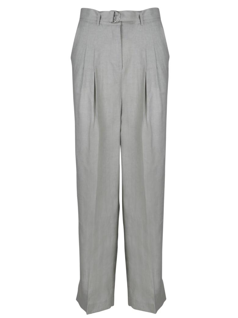 PierAntonioGaspari Wide Linen Trousers - Grey