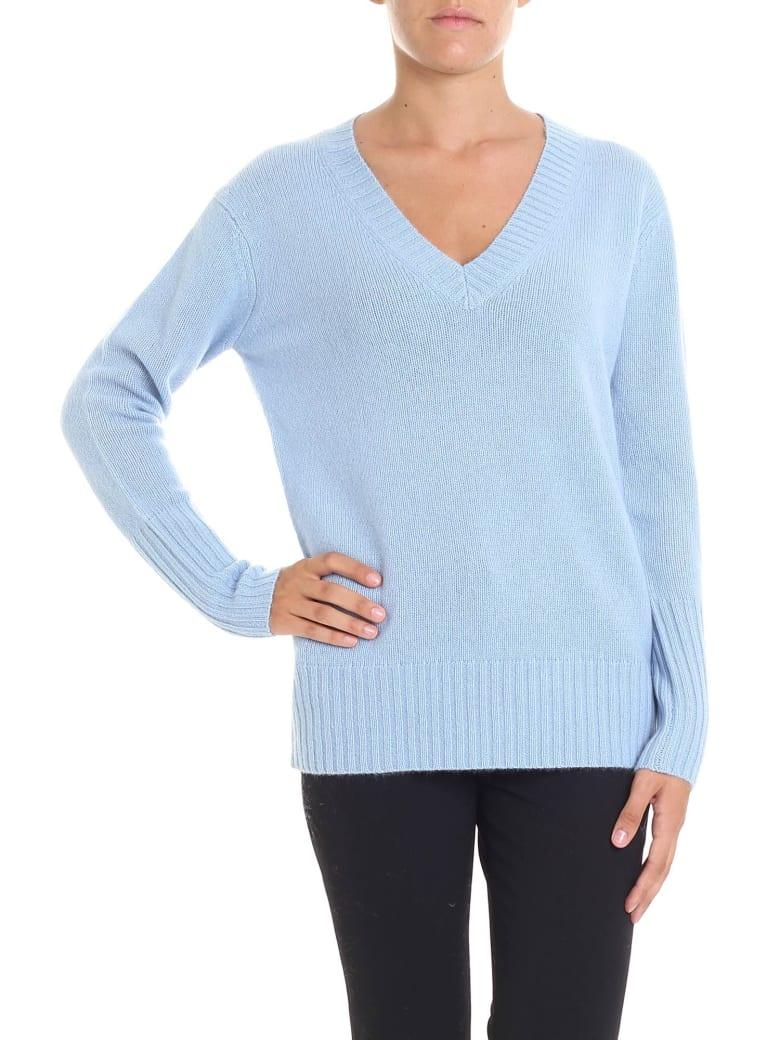 360 Sweater 360 Cashmere - Runa Sweater - Azure