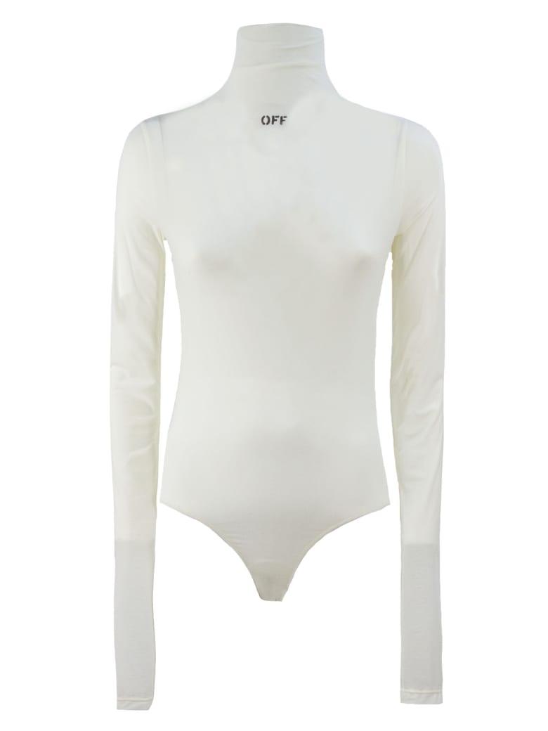 Off-White Off White Bodysuit - Panna