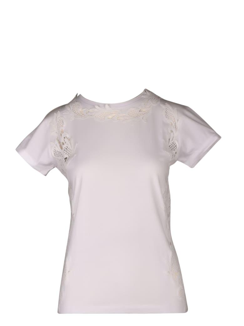 Parosh Short Sleeve T-Shirt - White