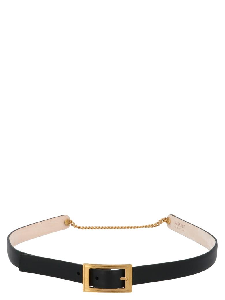 Versace 'sfilata' Belt - Black