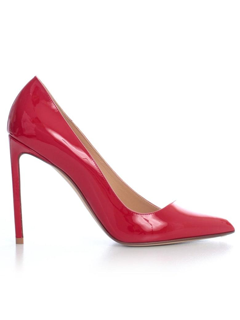 Francesco Russo Pumps Patent 105 Heel - Red