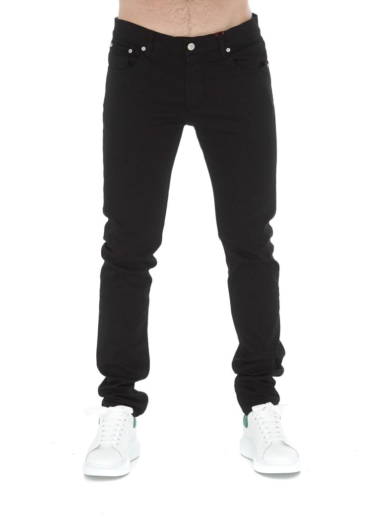 Alexander McQueen Logo Jeans - Black