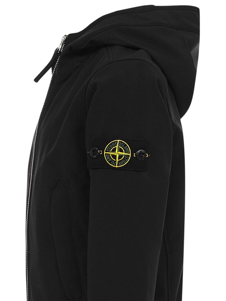 Stone Island Junior Jacket - Black